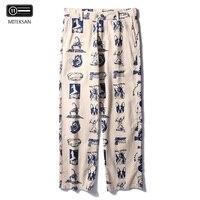 Men's Streetwear Hip Hop Pockets Jogger Running Cotton Baggy Pants New Design Male Cargo Pants Casual Streetwear