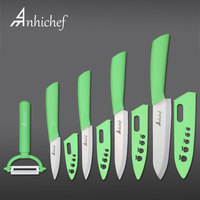 Kitchen Knives Ceramic Knives 3 4 5 6 Inch Chef Knife Cook Set Peeler White Zirconia