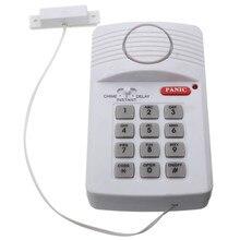 Одежда высшего качества безопасности дверной сигнализация с тревожная кнопка для дома сарай гараж Caravan