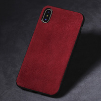 Fashion phone case for xiaomi 8 se suede business phone case all inclusive phone protection case for millet 6 6x max3 mix2s