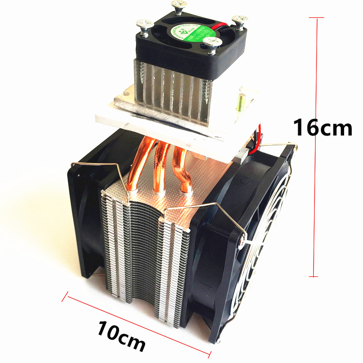 DIY DC12V Semiconductor Cooler Computer Case Micro Air Conditioning refrigerator Space Cooling radiator Kit 1u server computer copper radiator cooler cooling heatsink for intel lga 2011 active cooling