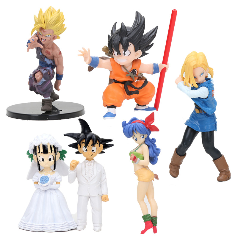 Action & Toy Figures Self-Conscious Wstxbd Original Scultures 7 Dragon Ball Z Dbz Super Saiyan Brolly Pvc Figure Model Toys Dolls Figurals Vol.3