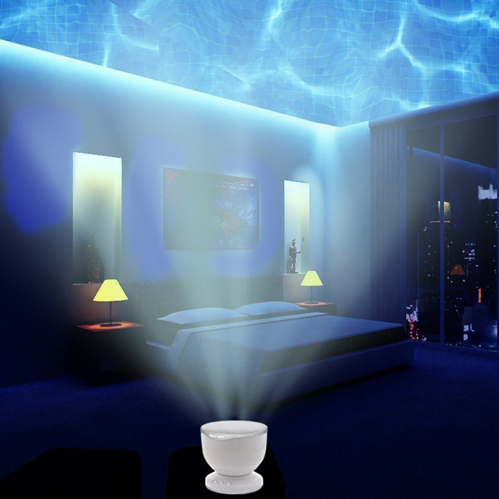 Led Plafond Lamp Night Light Projector Lamp For Children With Music