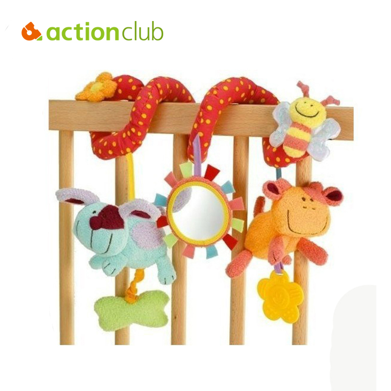 1pcs/lot ELC Baby Toy,Multifunctional Animals Around/Lathe Bed Hang.Safety Mirrors/BB Device/Teeth Glue/Take Pull ShockHT82600MU
