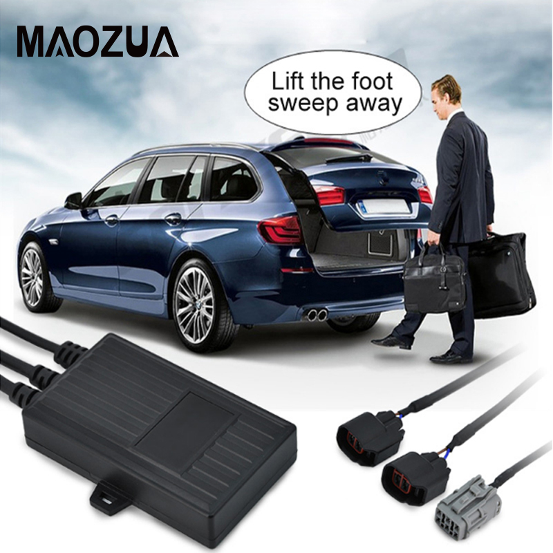 Universal PLC induction open car trunk system lift automatic open auto tail box Intelligent induction kick tail gate universal cold feed induction kit