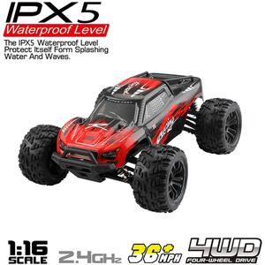 Image 4 - G172 1/16 2.4G 4WD 36 km/h High speed Off road Bigfoot RC Auto RTR