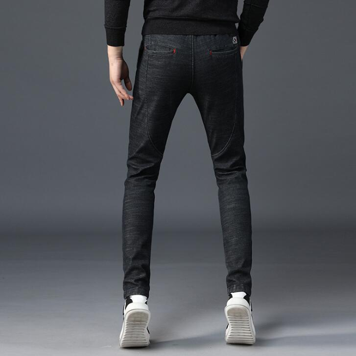 19 Winter Good Quality Discount Men Jeans For Hot Sales Warm Thickening Male Pants 2