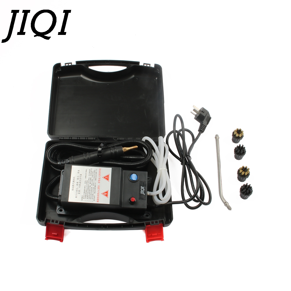 JIQI High temperature high pressure mobile cleaning machine multifunction steam cleaner pumping Sterilization Disinfector 2000W 220v high temperature and high pressure cleaning machine disinfector sterilization steam cleaning machine a 02 1800w