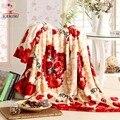 Baby blanket Wrap Soft Flannel newborn baby blankets 7 color print Swaddling Infantil Bedding Kids Gift 200 * 120CM i063
