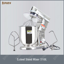 SL-B7/10 Electric Stand Food Mixer Stainless Steel Planetary Mixer Flour Dough Mixer Machine 7 Liters 10 Liters for Kitchen food mixer philips hr3745 00 hr 3745 electric kitchen planetary with bowl stand household appliances for kitchen