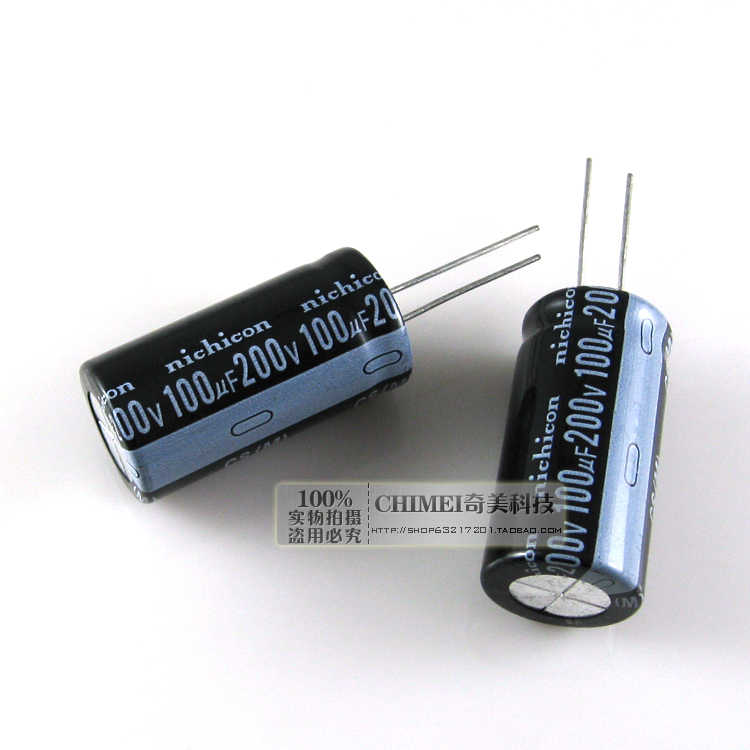 Electrolytic Capacitor 200V 100UF Capacitor