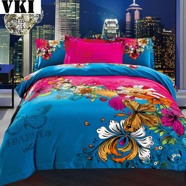 Home Textile Blue Quilt Design Software Discount Bed Sheets Double College  Cotton Duvet Sets Duvet Covers