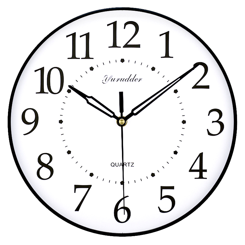 No Frame MDF Wall Clock New Arrival Modern Simple Design Fashion ...