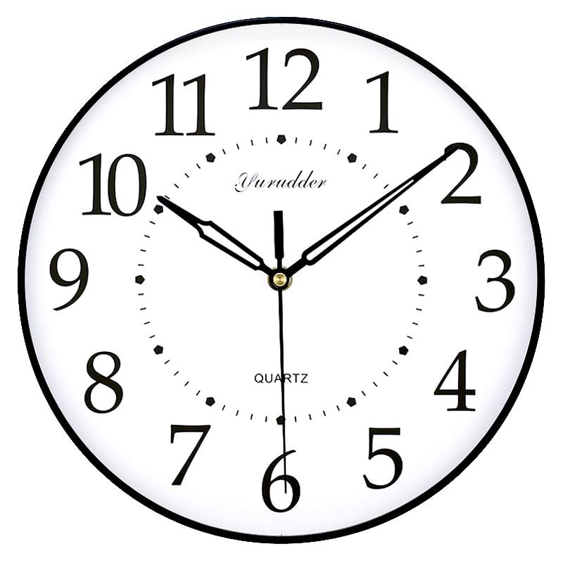 No frame mdf wall clock new arrival modern simple design fashion wood decorative diy 28cm wall - Orologio design parete ...