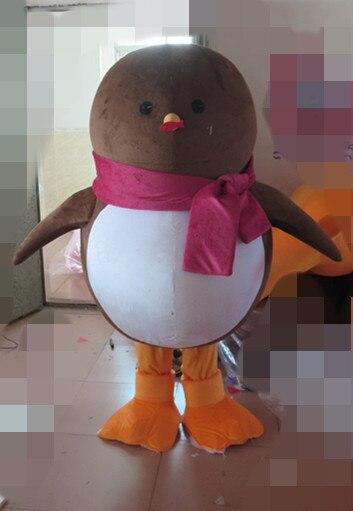 2019 Costume de mascotte de pingouin empereur le Costume de Cosplay Animal antarctique Kit de Costume de mascotte de carnaval vêtements spéciaux de vacances
