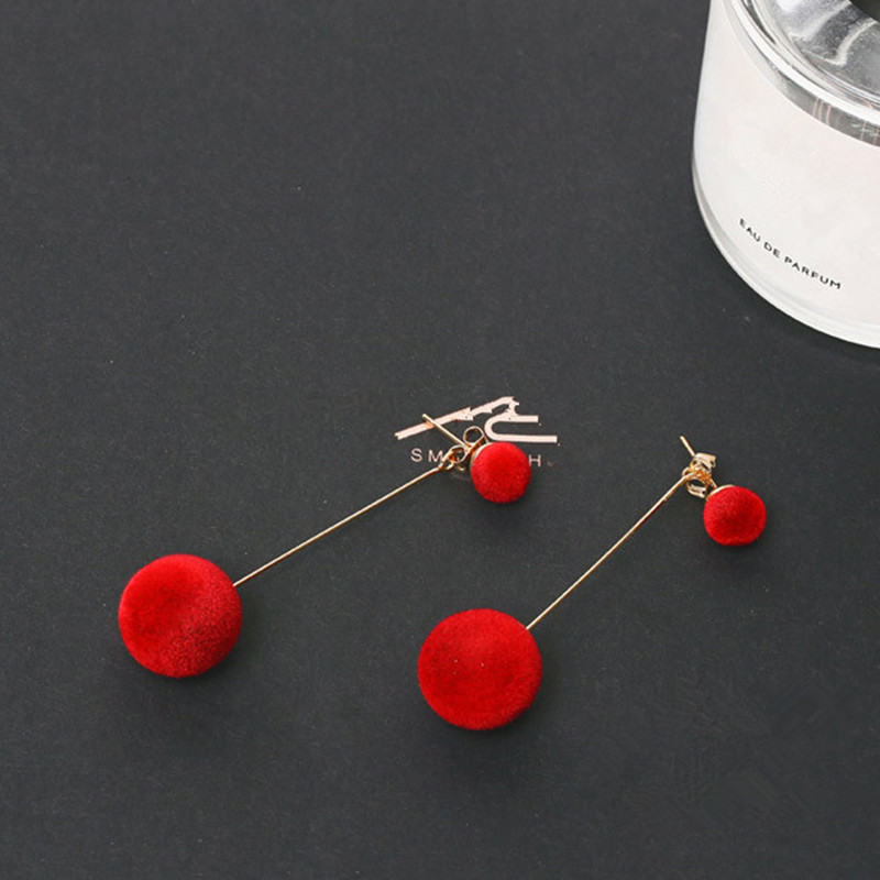 Amazing Ball Drop Earrings