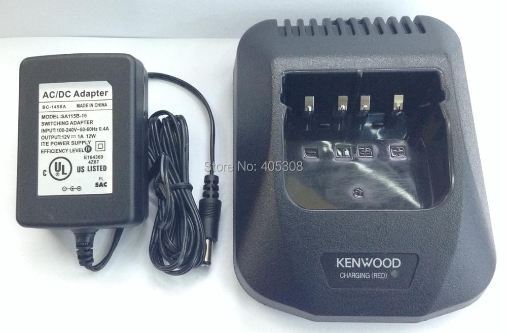 NEW BATTERY /& KSC-24 Charger KENWOOD TK 380 UHF   RADIO Antenna