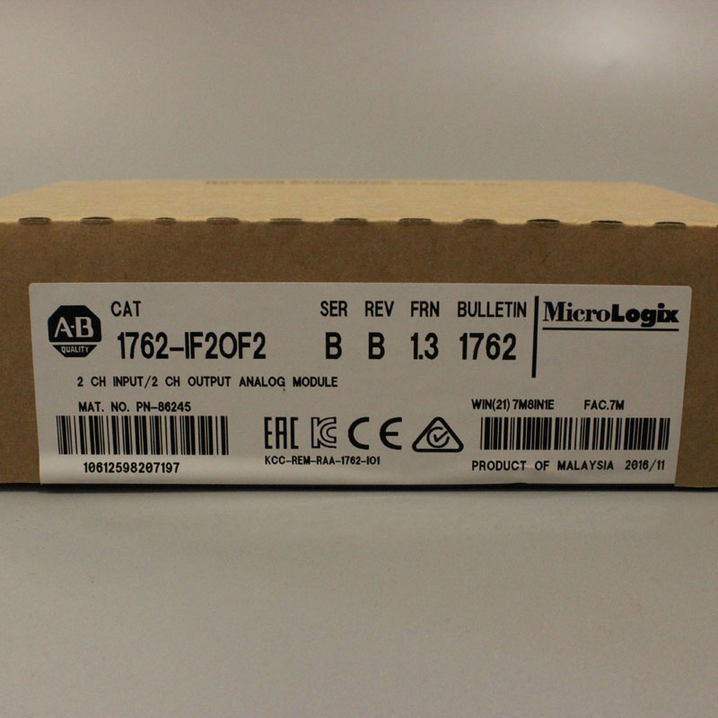 1762 IF2OF2 1762IF2OF2 PLC Controller New Have in stock