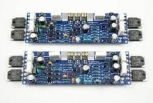 2 PCS L12-2 AMPLIFICADOR de Áudio Kit Amplificador de Potência de 2 Canais Ultra-baixa Distorção Clássico Amplificador AMP Kit DIY/Terminou