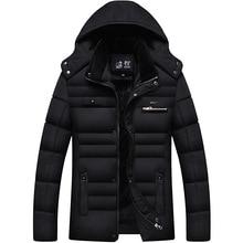 Free Shipping 2016 Winter Jacket Men Brand Thick Hooded Men's Parka Fur hood Coat High quality Size XXXXL Men Duck Down Jacket