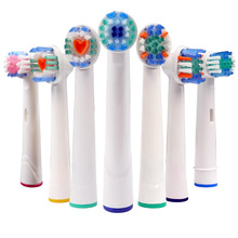 4PCS Oral B Electric Toothbrush Replacement Heads For Braun New Universal Head Extra Tooth Brush