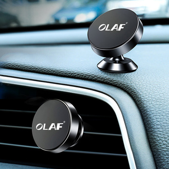 OLAF Universal Magnetic Car Phone Holder Stand in Car For iPhone 7 X Samsung Magnet Air Vent Mount Cell Mobile Phone Support GPS 1