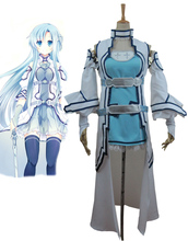 Envío Gratis Espada de Arte En Línea ALO Alfheim Online Yuki Asuna Anime Cosplay Costume
