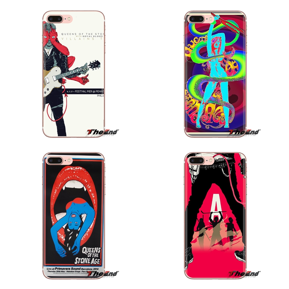 Mobile Phone Case Queens Of The Stone Age Wallpaper For Xiaomi Mi4