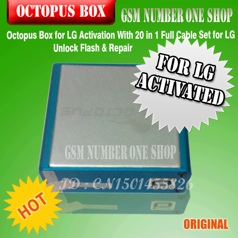 Aliexpress. Com: buy gsmjustoncct octopus box for lg activation.