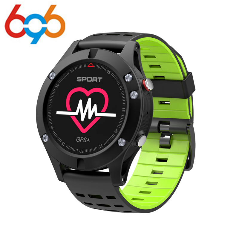 696 <font><b>No.1</b></font> <font><b>F5</b></font> GPS Smart Sport Watch Altimeter Barometer Thermometer Bluetooth 4.2 Smartwatch Wearable devices for iOS Android Phon image
