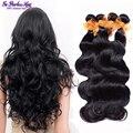 Peruano onda do corpo do cabelo virgem feixes de cabelo barato 4 peça 100% fa peerless virgem do cabelo peruano onda do corpo do cabelo humano tecelagem 100