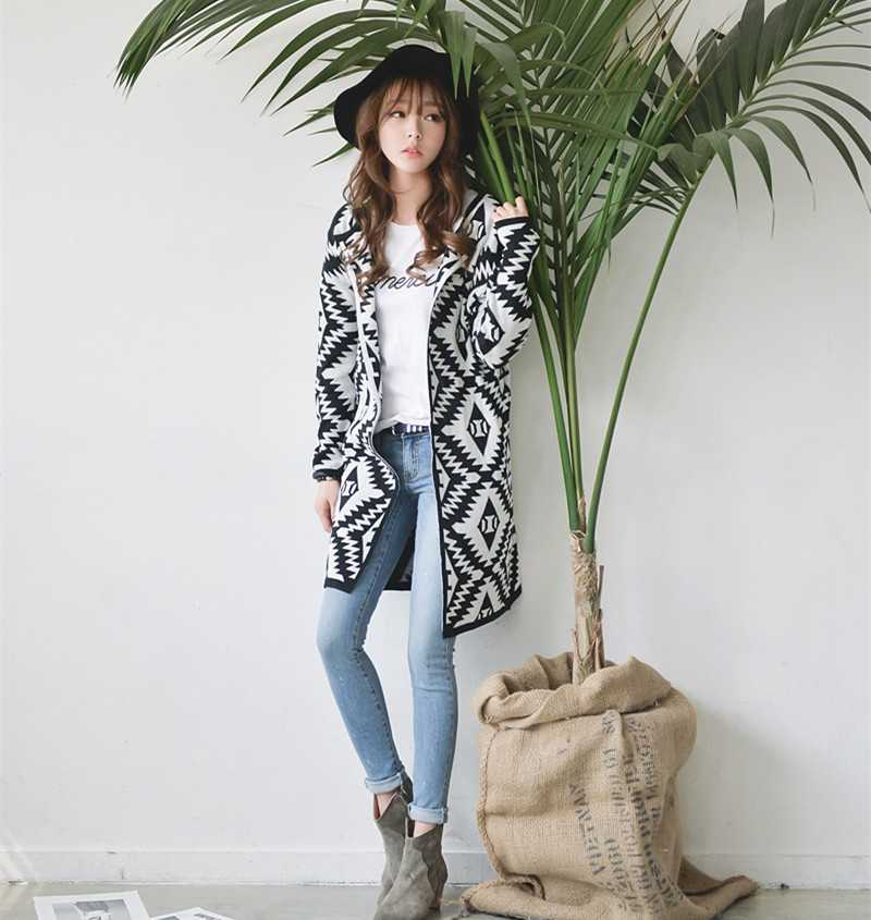 91107a873 New Arrive new 2015 coat womens diamond Plaid knitted Cardigan clothing  size bulky sweater sweaters women 1441790995-in Cardigans from Women s  Clothing on ...