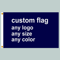 Custom Flag Any Size Company Advertisement Flags And Banners 3x5 FT Free Shipping