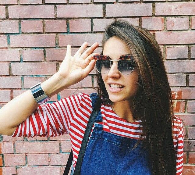 51f003cf7278 Contain Rose Gold!SOLO TU Fashion Trend High Quality Handsome Personality  Sunglasses Women Men Multicolor
