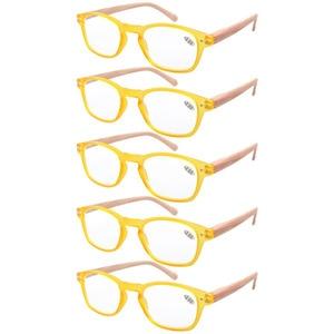 Image 3 - R034 Eyekepper 5 pack Spring Hinge Wood grain Printed Arms Reading Glasses Sun Readers +0.50   +4.00
