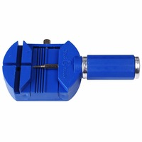 Blue High Quality Watchband Watch Link Pin Remover Band Strap Opener Remover Size Adjuster Professional Repair
