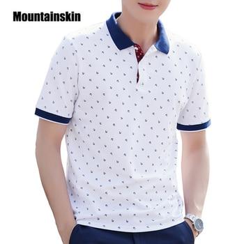 Alpinskin hommes hauts été 100% coton imprimé chemises marques manches courtes Camisas col montant homme chemise 5XL EDA377