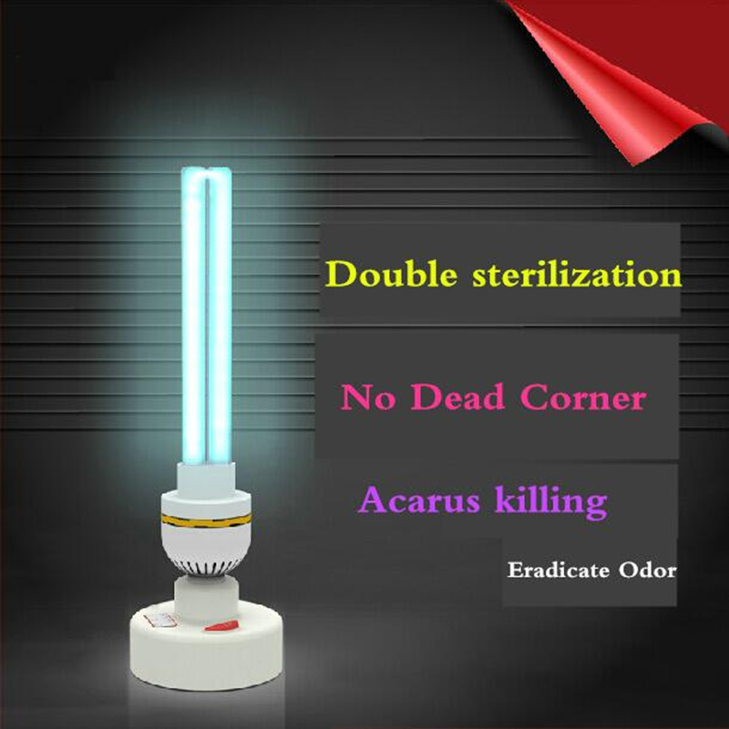 220V UVC Ultraviolet Germicidal Lamp E27 Household Sterilization Lamps UV Disinfection Lights 15W 20W 30W High Ozone Sterilizer compatible 25w uv germicidal bulb for 25w ultraviolet sterilizer 2 packed