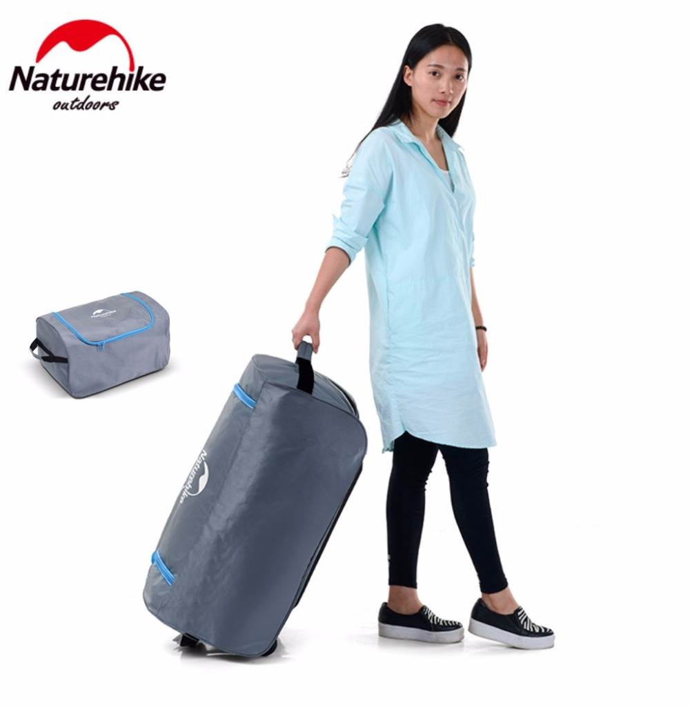 NatureHike Factory Store outdoor Travel camping luggage storage bag Organizer Travel Kits tent sleeping bag set bag with wheels naturehike outdoor travel camping storage bag folding luggage bag organizer with wheels travel kits tent sleeping bag set bag