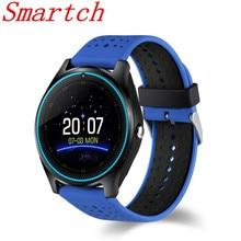 EnohpLX Smartwatch DZ09 V9 Com Câmera Do Bluetooth Relógio Inteligente Pedômetro Saúde Sport MP3 Relógio Horas Homens Mulheres Smartwatch Para E