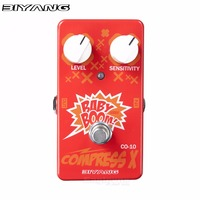 Biyang Compress X Guitar Effect Pedal Ereate Balanced Effect Effects Stompbox For Electric Guitar And Bass
