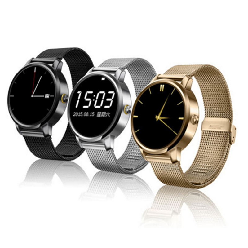 Luxury V360 Smart Watch update DM360 MTK2502A Bluetooth Smartwatch support Dutch Hebrew for Apple iPhone Huawei Android phone