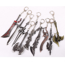 World of Warcraft Illidan Stormrage Keychains