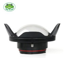 Seafrogs WA-1 Fisheye Wide Angle Lens Dome Port for Housing Nikon D800 Canon 5D4 surpport 24-105mm lens