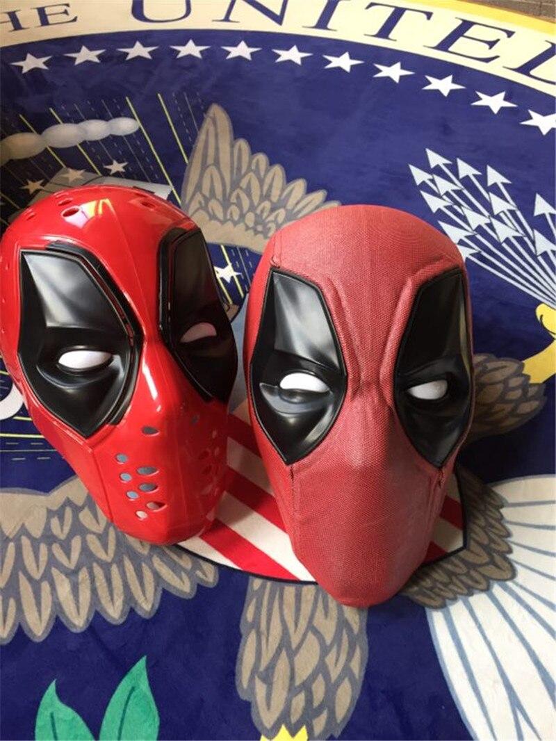 Takerlama mis à niveau Deadpool ABS plastique complet masque/casque avec deux ensembles de lentilles magnétiques Halloween Prop cadeau Cosplay