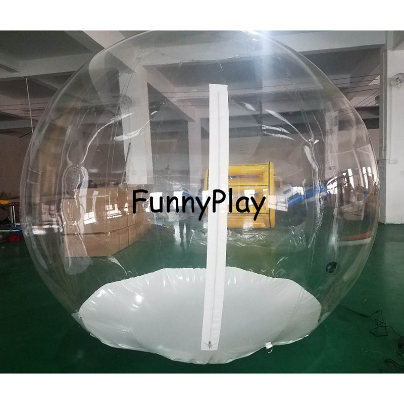 Bubble Inflatable Tent 2M PVC clear Camping Tents Inflatable event promotion tents,transparent bubble tent for trade show inflatable coffee rest room inflatable family camping bubble tent the event struct house dome outdoor clear show tent for photo
