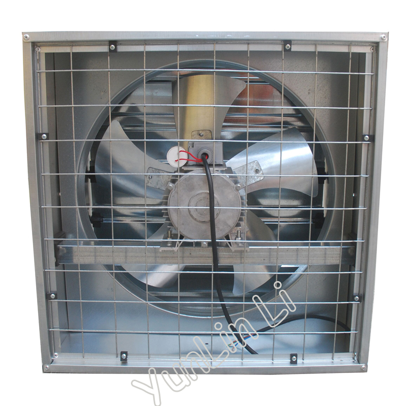 Industrial Exhaust Fan Ventilator 200W Farm Air Extractor High Power Fan Copper Strong Air Lower Energy Ventilation FB-380