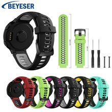 Smart classic Silicone sport Watch strap for Garmin Forerunner 230 235 220 620 630 735 235 Lite Smart Band bracelet Watchband все цены