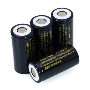 Image 5 - 6 stks/partij VariCore 3.7 V 32650 7200 mAh Li Ion Oplaadbare Batterij 20A 25A Continue Afvoer Maximale 32A High power batterij