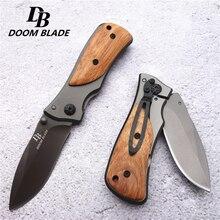 57HRC Средний размер Скаут складываемый карманный нож Компактный Тактический Открытый Кемпинг Охота выживания спасательный нож с коробкой